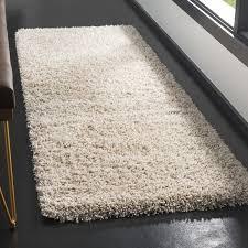 safavieh california cozy plush beige shag rug 2 u00273 x 7 u0027 free