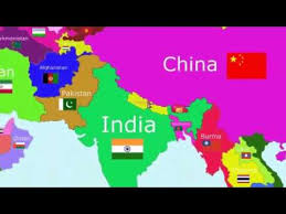 world map image with country names and capitals the countries of the world song asia