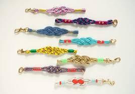 make diy nautical knot bracelets etsy journal