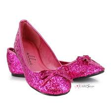 Glitter Home Decor Pink Glitter Ballet Flats Mila Style By Ellie Shoes