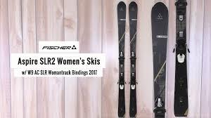 fischer aspire slr2 women u0027s skis w w9 ac slr womantrack bindings