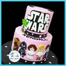 starwars cakes pink wars cake blue sheep bake shop