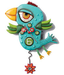 Blue Cuckoo Clock Allen Designs Blue Tweety D Clock Buy Gifts At Our Onlineshop