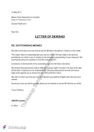 best photos of business demand letter sample eviction notice