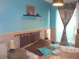 chambre bleu turquoise et taupe chambre turquoise et beige idées de décoration capreol us