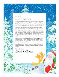easy free letter from santa magical package christmas eve