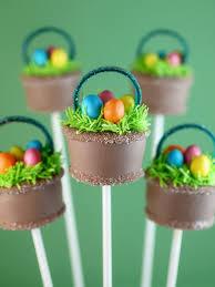 easter cakepops easter basket cake pops bakerella