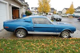 1967 ford mustang shelby gt350 for sale 30 years parked 1968 shelby mustang gt350 bring a trailer