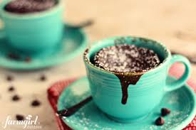 edible chocolate cups to buy gooey chocolate cake cups for two in 2 minutes a farmgirl s