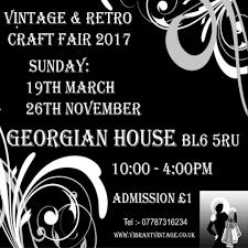 vintage and retro craft fair mercure georgian house hotel bolton