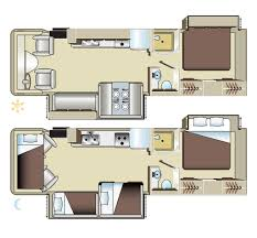 Luxury Rv Floor Plans A Class 29ft Ace Motorhome 6 Berth Fraserway Vehicle Information