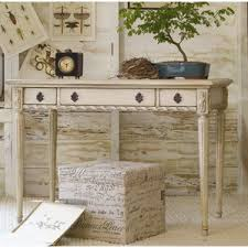 Writing Desk With Drawer by Antique White Wood Desk Wayfair