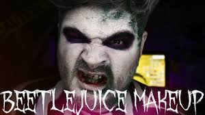 Halloween Mad Hatter Makeup by Beetlejuice Halloween Makeup Tutorial Jordan Hanz 31 Days Of