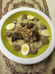 cuisine alg駻ienne traditionnelle constantinoise trida constantinoise sauce blanche recette cuisine algérienne