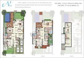 Villa House Plans Vipul Tatvam Villas In Sector 48 Gurgaon Price Location Map