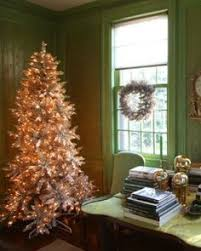 Christmas Home Decorating Ideas Martha Stewart Pink Christmas Tree Glitter Candles Rose Peach Gold Silver