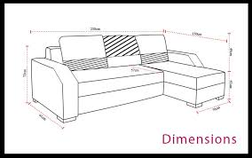 dimension canape angle dimension canape d angle