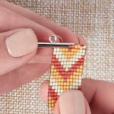 beading bracelet clasps images How to use ricks bead loom plus two ways to clasp loom bracelets jpg
