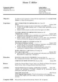 Good Resume For Job by Examples Of Resumes 11 Good Cv For Job Attendance Sheet Download