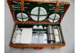 picnic basket set for 4 sold picnic set 1 x harrod s of london picnic basket and set