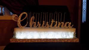 sweet 16 candelabra gold snowflake winter sweet 16 candelabra quinceanera