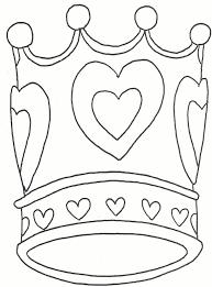 kleurplaat kroon tineke
