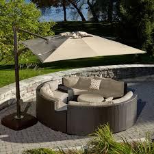 outdoor offset umbrellas costco patio chairs offset umbrella