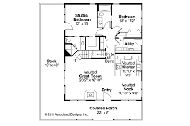 House Plans With Vaulted Great Room by Cottage House Plans Arden 30 329 Associated Designs