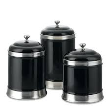 black and white kitchen canisters black canister sets for kitchen or large size of spoons for