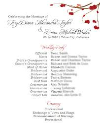 Wedding Program Samples Wording Mt U0027s Blog I Am So Excited To Share Today Some Wonderful Rustic