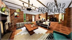 the sims 3 speed build cosy old french house youtube