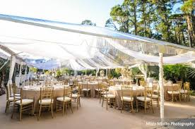 chair rentals orlando paradise cove and matthew s gold lakefront wedding a