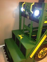Free Patterns For Loft Beds by Ana White John Deere Tractor Bunk Bed Diy Projects