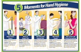 printable poster for hand washing 5 moments for hand hygiene