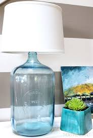 how to make a lamp diy bottle lamp the inspired room