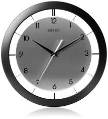 seiko digital atomic wall clock