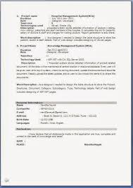 Sample Resume Format For Fresh by Fresher Resume Format For Mca Student