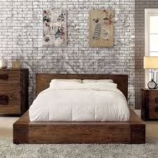 bedroom king size low profile bed frame without spring box for
