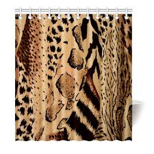 compare prices on leopard shower curtain online shopping buy low brown leopard shower curtain printing waterproof mildewproof polyester fabric bath curtain bathroom china