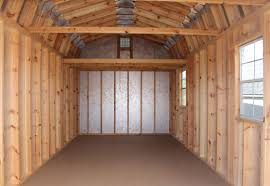 gambrel roof shed vs gable roof shed which design is best for you 12x20 hi wall barn loft interior gambrel roof shed