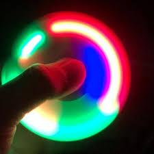 a light up fidget spinner light up plastic fidget spinner gear stop shop
