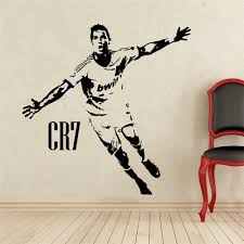 aliexpress com buy home decor sports football wall stickers pvc