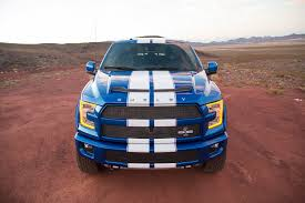 ford truck blue shelby brings the blue thunder to sema with 700hp f 150 truck