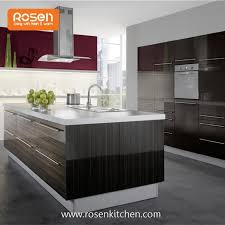 how to make kitchen cabinets high gloss china customized build in new painting high gloss wood grain