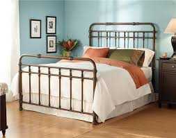 Antique Metal Bed Frame Simple And Beauty Bedroom With Metal Bed Frame Twin
