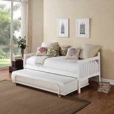 bed bedding make your bedroom more cozy with awesome full size white wodoen full size trundle bed with rug and wooden floor for home decoration ideas