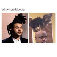 The Weeknd Memes - 19 of the best memes about the weeknd s hair smosh