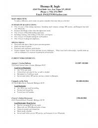 Resumes For Over 50 Head Server Sample Resume Real Estate Specialist Sample Resume