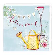 retirement card happy retirement card for gardeners green fingered whistlefish