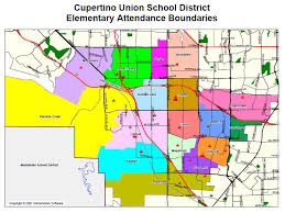 cupertino map thirty second day sunnyvale and cupertino elementary